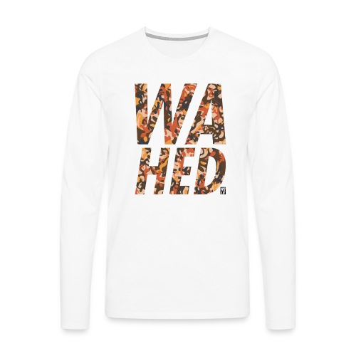 WAHED2 - Mannen Premium shirt met lange mouwen