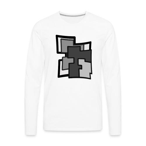 Abstraction - Camiseta de manga larga premium hombre