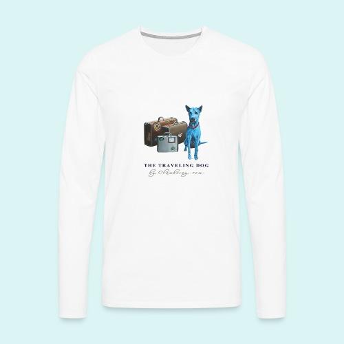 Laly Blue Big - Men's Premium Longsleeve Shirt