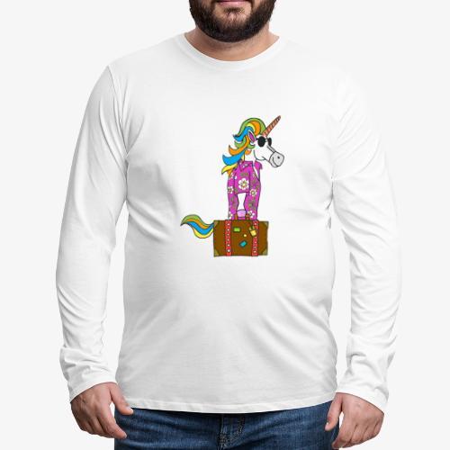Unicorn trip - T-shirt manches longues Premium Homme