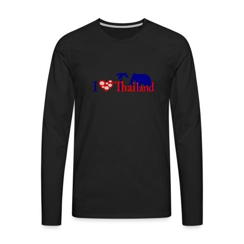 I love Thailand - Men's Premium Longsleeve Shirt
