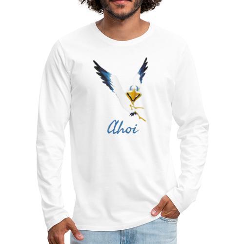 Lachmöwe Ahoi - Männer Premium Langarmshirt