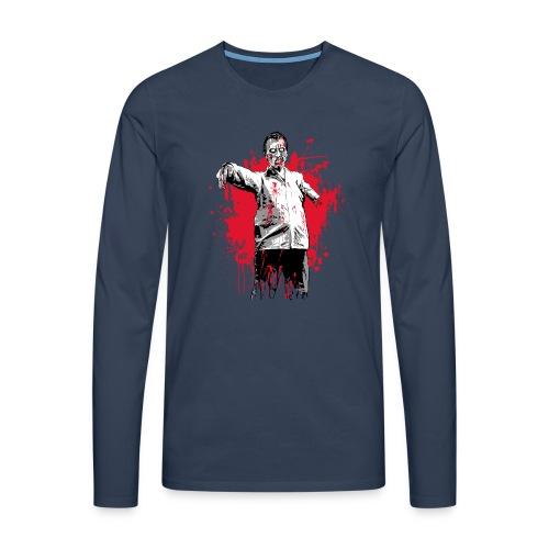 zombie - T-shirt manches longues Premium Homme