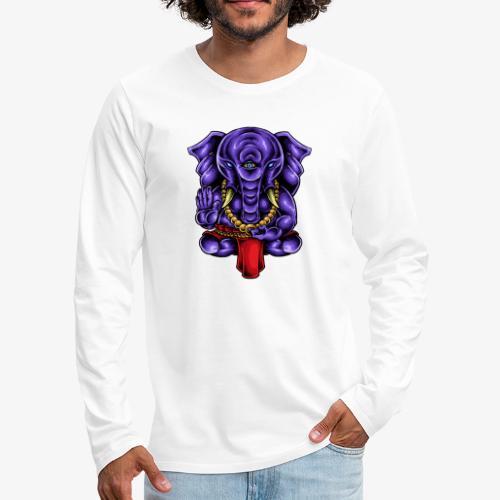 Ganesh - Männer Premium Langarmshirt