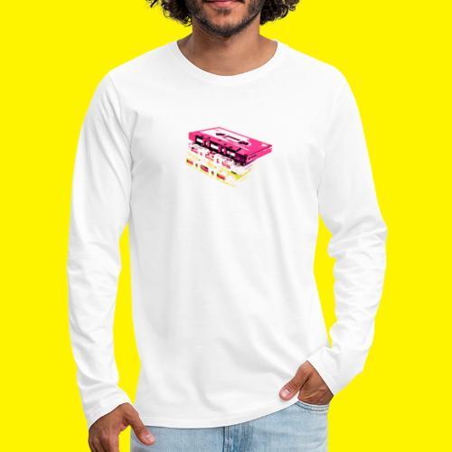 Cassette tape - Men's Premium Longsleeve Shirt