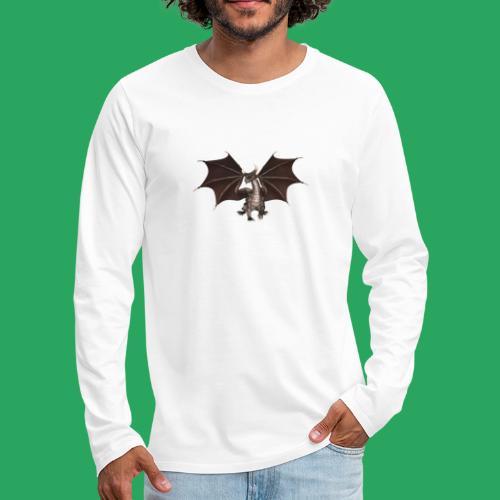 dragon logo color - Maglietta Premium a manica lunga da uomo