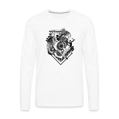 afrocentrique - Men's Premium Longsleeve Shirt