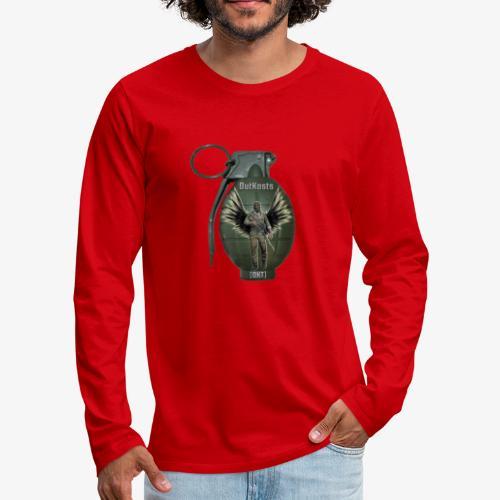 grenadearma3 png - Men's Premium Longsleeve Shirt