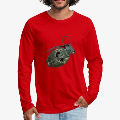 OutKasts Grenade Side - Men's Premium Longsleeve Shirt