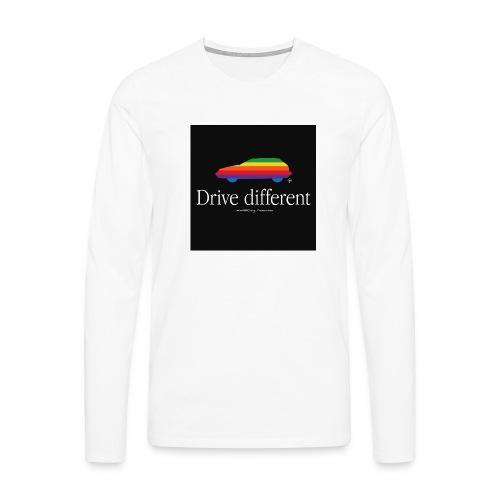 Drive different - T-shirt manches longues Premium Homme