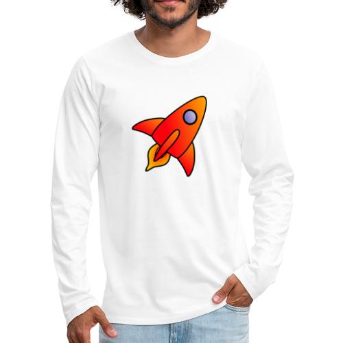 Red Rocket - Men's Premium Longsleeve Shirt
