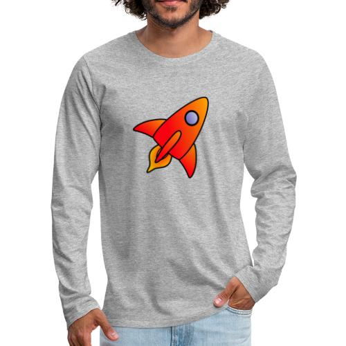 Red Rocket - Men's Premium Longsleeve Shirt