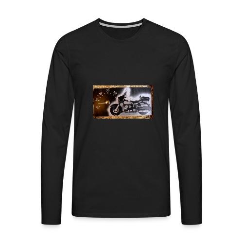 MP-kuva - Miesten premium pitkähihainen t-paita