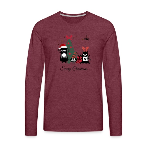 Noël effrayant - Scary Christmas - T-shirt manches longues Premium Homme