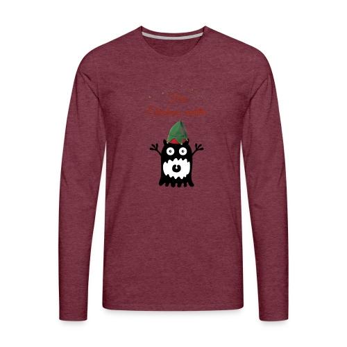 Calins de Noël - Christmas cuddels - T-shirt manches longues Premium Homme