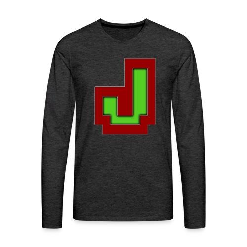 Stilrent_J - Herre premium T-shirt med lange ærmer