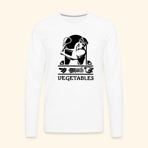 tennis vegetable - T-shirt manches longues Premium Homme