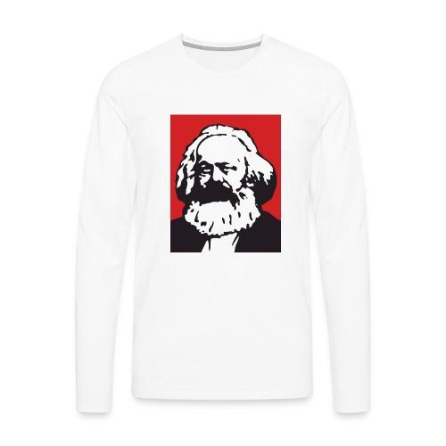 Karl Marx - Maglietta Premium a manica lunga da uomo