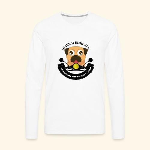 Territorio Perruno - Camiseta de manga larga premium hombre