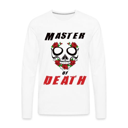 Master of death - black - Koszulka męska Premium z długim rękawem