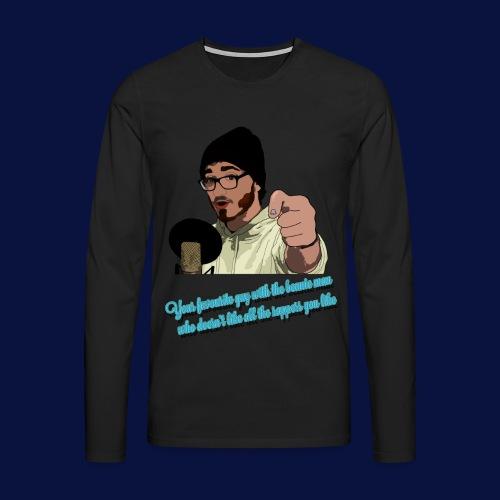 Your Favourite Beanie Man - Men's Premium Longsleeve Shirt