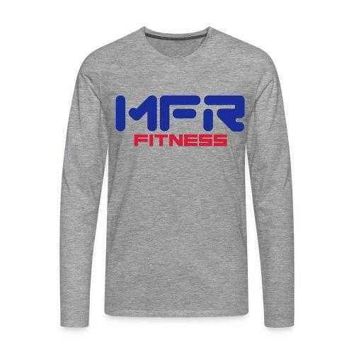 mfr fitness - Långärmad premium-T-shirt herr