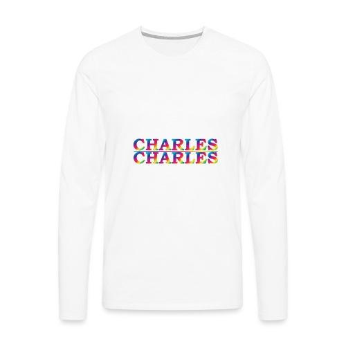 CHARLES rainbow - Men's Premium Longsleeve Shirt