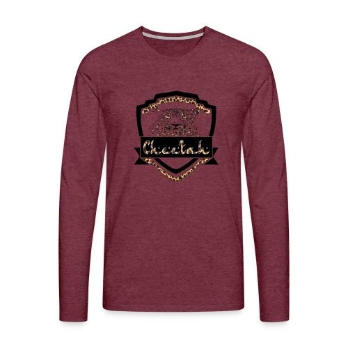 Cheetah Shield - Men's Premium Longsleeve Shirt