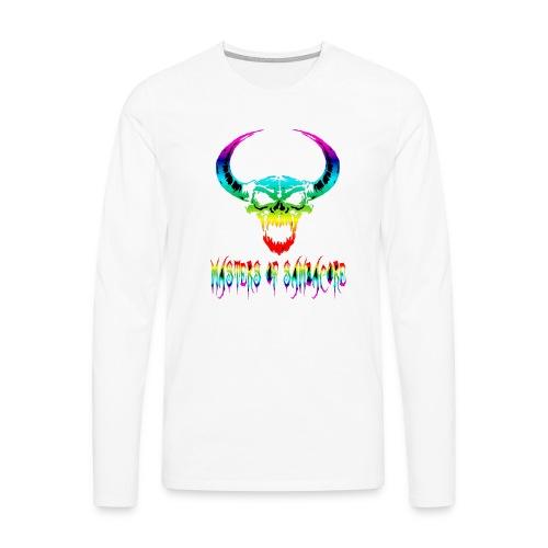 mos2 png - Mannen Premium shirt met lange mouwen