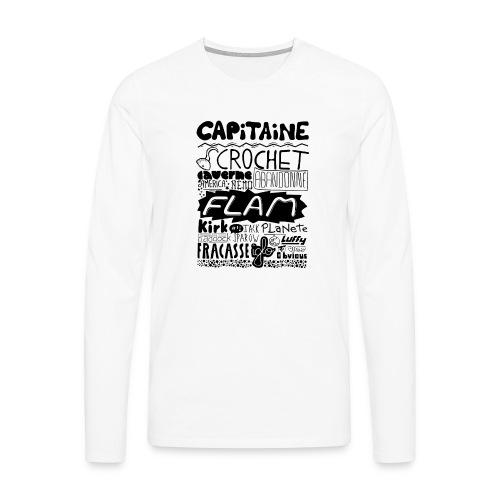 capitaine - T-shirt manches longues Premium Homme