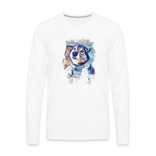 Rocky - Männer Premium Langarmshirt