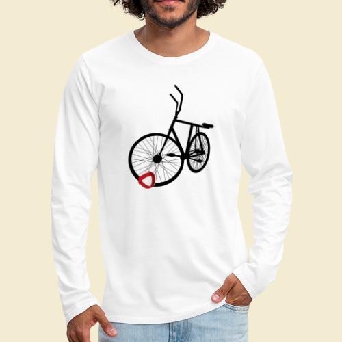 Radball | Black - Männer Premium Langarmshirt