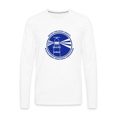 NVV Logo - Mannen Premium shirt met lange mouwen