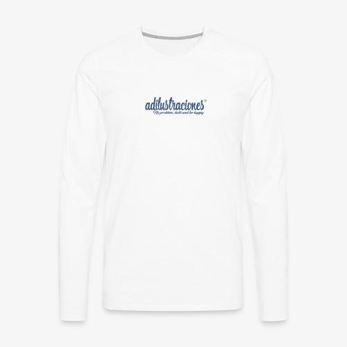 adilustraciones - Camiseta de manga larga premium hombre