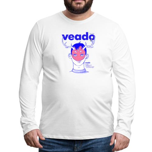 Veado - Camiseta de manga larga premium hombre
