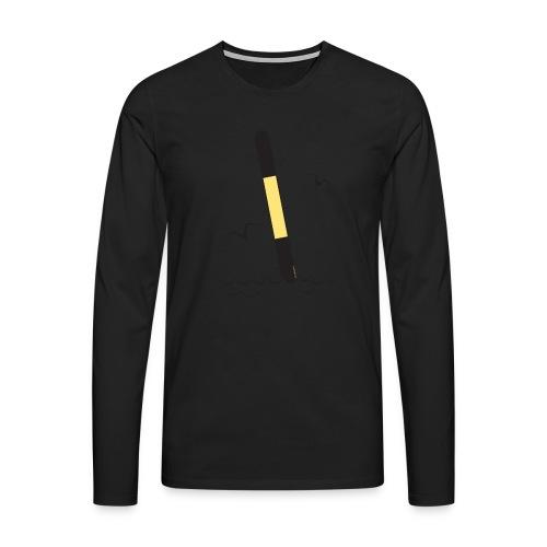 FP25 ITÄVIITTA Merimerkit funprint24 net - Miesten premium pitkähihainen t-paita