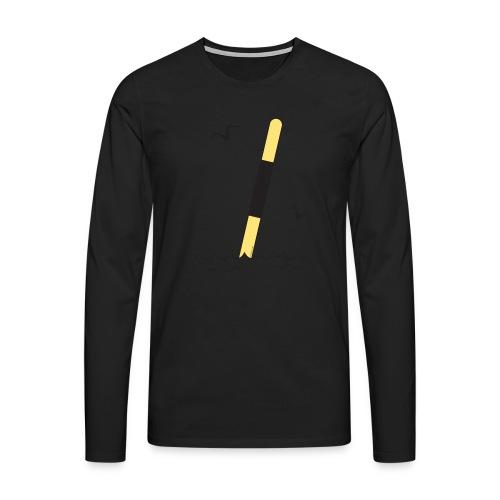 FP25 LÄNSIVIITTA Merimerkit funprint24 net - Miesten premium pitkähihainen t-paita