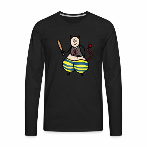 Devil No Touchies Charlie - Men's Premium Longsleeve Shirt