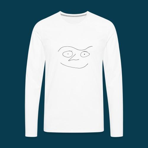 Chabisface Fast Happy - Männer Premium Langarmshirt