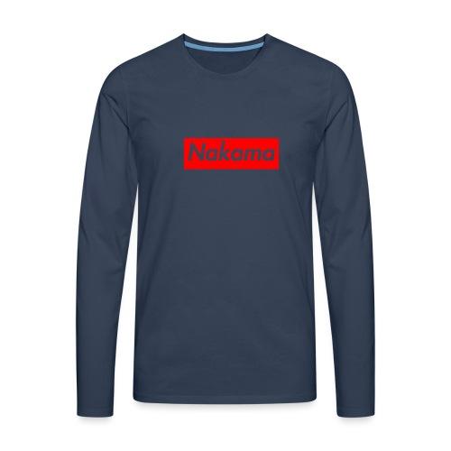 Nakama - T-shirt manches longues Premium Homme