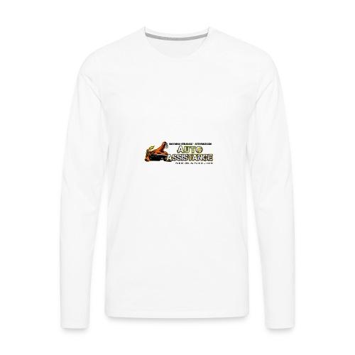 Auto Assistance - Maglietta Premium a manica lunga da uomo