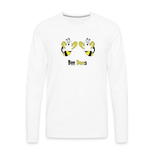 Boo Bees Halloween - Miesten premium pitkähihainen t-paita