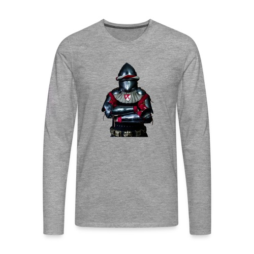 chevalier.png - T-shirt manches longues Premium Homme
