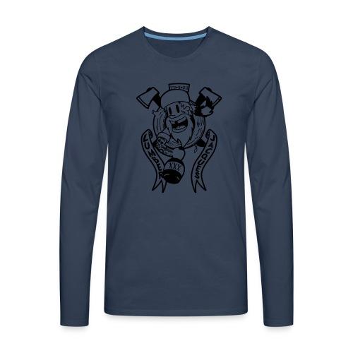 Lumber Jacques - T-shirt manches longues Premium Homme