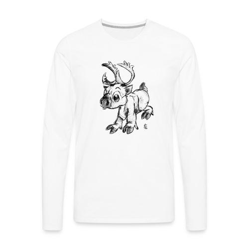 Caribou - T-shirt manches longues Premium Homme