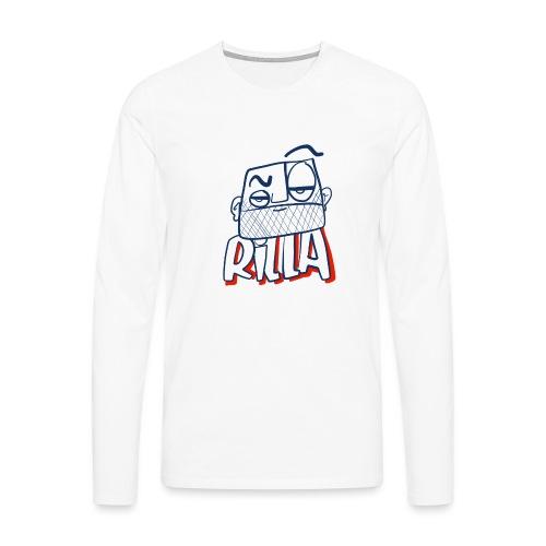 Rilla bad 1 - Mannen Premium shirt met lange mouwen