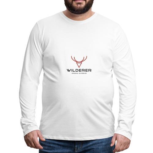 WUIDBUZZ | Wilderer | Männersache - Männer Premium Langarmshirt
