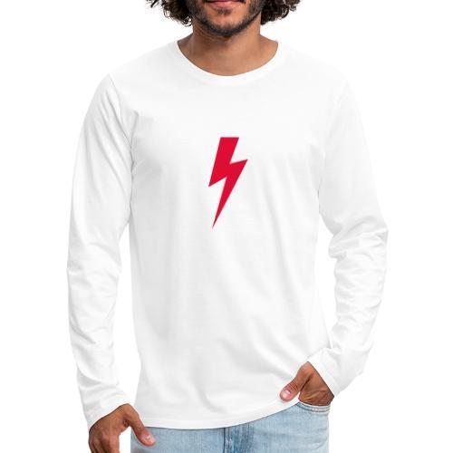 Błyskawica polannd ppro choice women rights - Koszulka męska Premium z długim rękawem