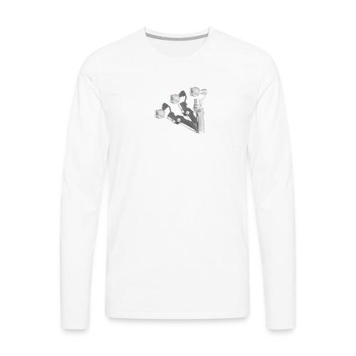 VivoDigitale t-shirt - DJI OSMO - Maglietta Premium a manica lunga da uomo