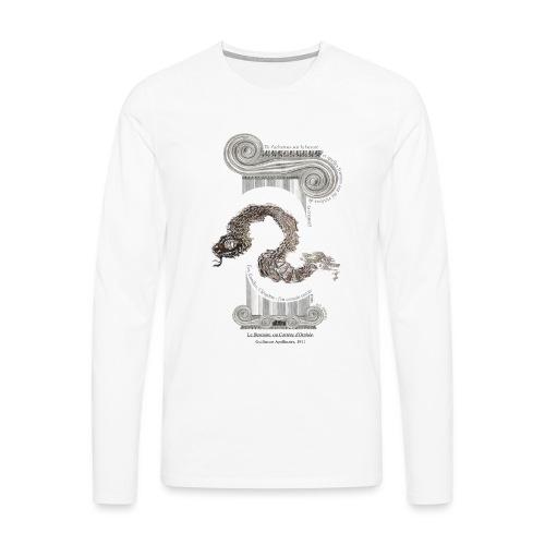 le Serpent - T-shirt manches longues Premium Homme